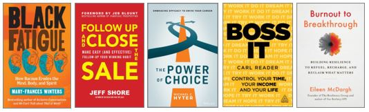 July Business Book Covers