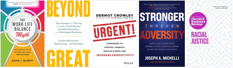 September Business Book Covers